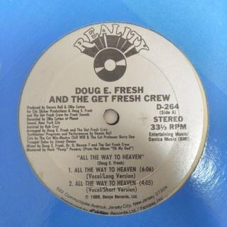 DOUG E FRESH(ターンテーブル)