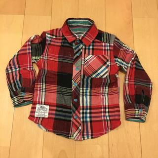 エフオーキッズ(F.O.KIDS)のfo.kids 100cm チェックシャツ(Tシャツ/カットソー)