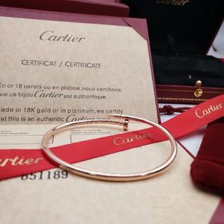 カルティエ(Cartier)のCartierカルティエプレスレット(ブレスレット/バングル)