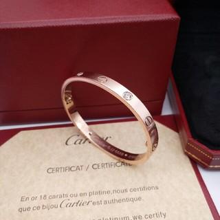 カルティエ(Cartier)のカルティエ ラブブレス ピンクゴールド新品(ブレスレット/バングル)
