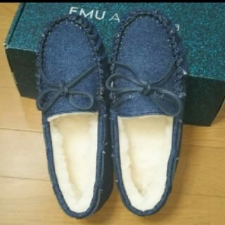 エミュー(EMU)のEMU モカシン  新品未使用(スリッポン/モカシン)