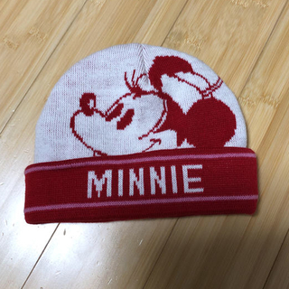 ディズニー(Disney)のミニーニット帽子(帽子)
