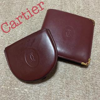 カルティエ(Cartier)のCartier マスト 二つ折り財布 コインケース(財布)