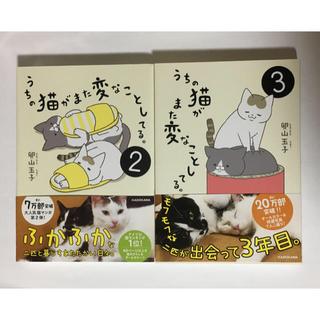 カドカワショテン(角川書店)のうちの猫がまた変なことしてる。2〜3巻(4コマ漫画)