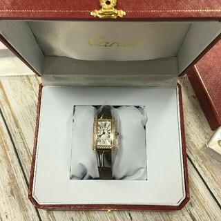 カルティエ(Cartier)のカルティエ  ミニタンクアメリカン Ref.WB710014 (腕時計)