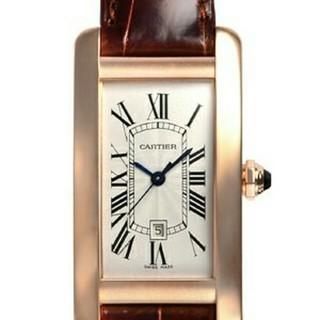 カルティエ(Cartier)のカルティエ タンクアメリカン MM W2620030(腕時計(アナログ))