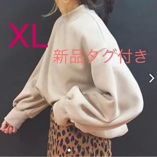 GU - モックネックスウェット XL  新品
