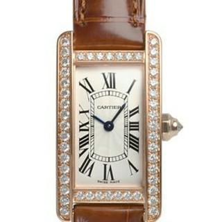 カルティエ(Cartier)のカルティエ タンクアメリカン SM WJTA0002(腕時計)