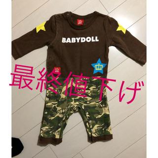 BABYDOLL - BABY DOLL  ロンパース