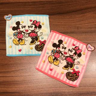 Disney - ミッキー&ミニー ハンドタオルセット