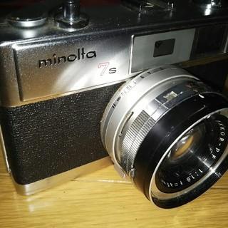 コニカミノルタ(KONICA MINOLTA)の【ジャンク】ミノルタ MINOLTA HI-MATIC 7s フィルムカメラ(フィルムカメラ)