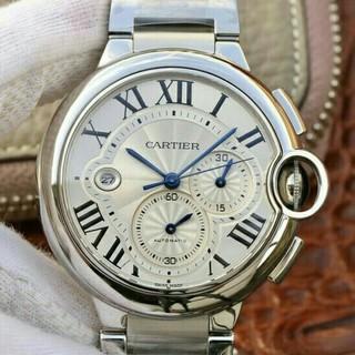 カルティエ(Cartier)のカルティエ バロンブルークロノ W6920031(腕時計)