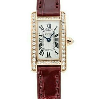 カルティエ(Cartier)のカルティエ ミニタンクアメリカン Ref.WB710014 新品(腕時計)