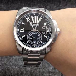 カルティエ(Cartier)の 人気商品 CARTIER 腕時計 自動巻 メンズ (腕時計(アナログ))