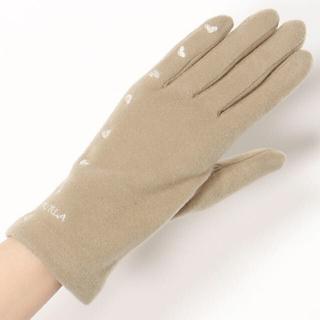 Furla - 新品 フルラ FURLA GLOVES スマホ対応 ジャージ手袋 ベージュ ♡