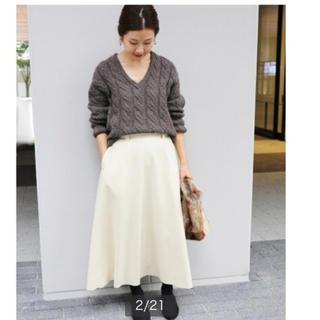 イエナ(IENA)のイエナ♡ハード圧縮フレアスカート(ひざ丈スカート)