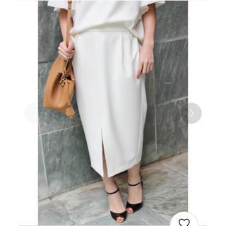 イエナ(IENA)のイエナ♡ミリオーネタイトスリットスカート(ひざ丈スカート)