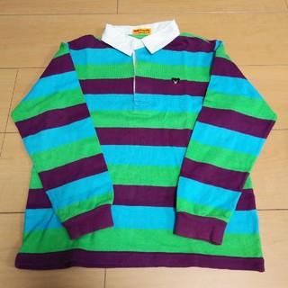 ダブルビー(DOUBLE.B)の美品【ダブルB】ラガーシャツ☆130(Tシャツ/カットソー)