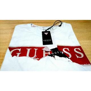 ゲス(GUESS)の新品タグ付き!GUESS Tシャツ Sサイズ(Tシャツ/カットソー(半袖/袖なし))
