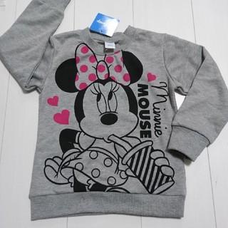 Disney - 新品タグ付きミニーマウス薄手トレーナー110センチ