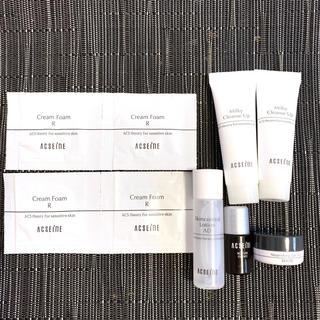 アクセーヌ(ACSEINE)の新品未使用 アクセーヌ スキンケア 洗顔 化粧水 クレンジング 美容液 9点(サンプル/トライアルキット)