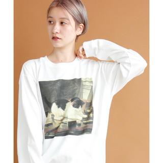 アトリエドゥサボン(l'atelier du savon)のI am I in fact... / 純喫茶準備室 絵画ロンT(Tシャツ(長袖/七分))