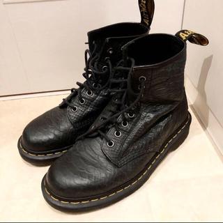 ドクターマーチン(Dr.Martens)のレア ドクターマーチン ワニ革ブーツ UK6(ブーツ)