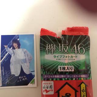 ケヤキザカフォーティーシックス(欅坂46(けやき坂46))の欅坂46ライブフォトカード 上生瑞穂(アイドルグッズ)
