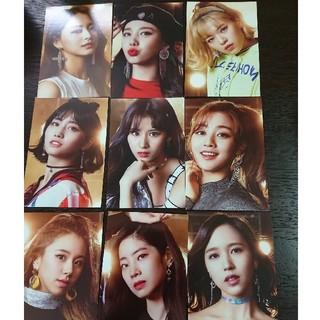 ウェストトゥワイス(Waste(twice))のTWICEポストカード 9枚(K-POP/アジア)