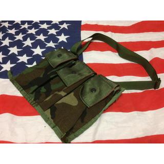 米軍ウッドランド6マガジンバンダリアMOLLE2(個人装備)