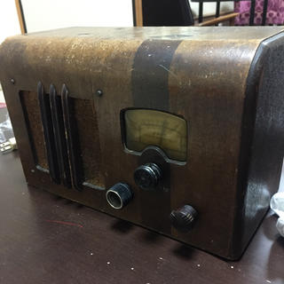 ナショナル 真空管ラジオ(ラジオ)