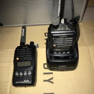 アルインコ DJ-S47 2台セット(アマチュア無線)