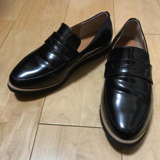 シマムラ(しまむら)のしまむら ベルトモカシューズ ローファー LL(ローファー/革靴)