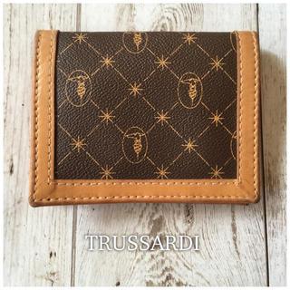 トラサルディ(Trussardi)のTRUSSARDI☆レザー折財布(折り財布)