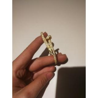 カルティエ(Cartier)のカルティエ ジュストアンクル ダイヤ ブレスレット  (ブレスレット/バングル)