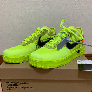 NIKE - NIKE × OFF WHITE AIR FORCE 1 LOW