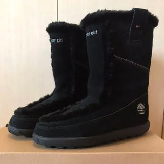 TOMMY HILFIGER - Timberland×tommyGirl ムートンブーツ 美品 24cm