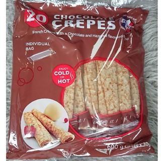 コストコ(コストコ)の数量限定!コストコ チョコクレープ1袋(20本)1/30期限(菓子/デザート)