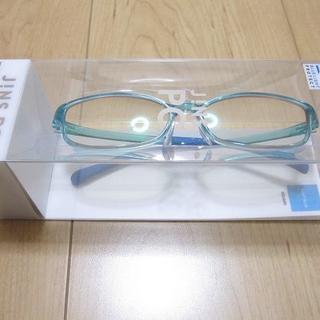 ジンズ(JINS)の新品 JINS ハイコントラストレンズ ブルーライトカット メガネ UVカット (サングラス/メガネ)