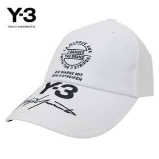 ワイスリー(Y-3)のY-3 キャップ ホワイト(キャップ) 1233d590c541