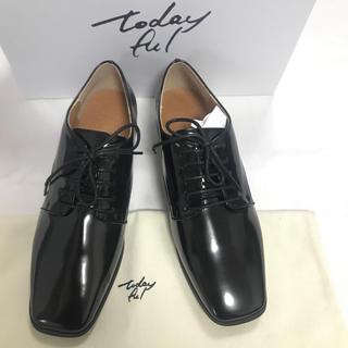 トゥデイフル(TODAYFUL)のTODAYFUL 新品 レースアップフラットシューズ(ローファー/革靴)