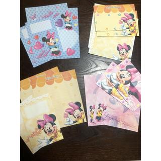 ディズニー(Disney)のミニーちゃん❤︎レターセット(カード/レター/ラッピング)
