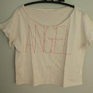 オペークドットクリップ(OPAQUE.CLIP)のOPAQUE    エンジェルTシャツ  40/L(Tシャツ(半袖/袖なし))