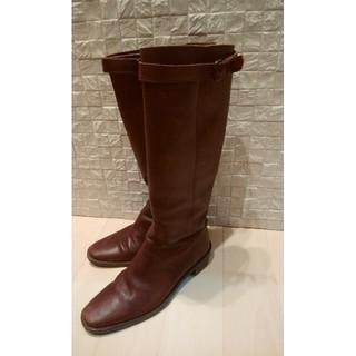 サヤ(SAYA)のSAYA  ロングブーツ 美品 25cm(ブーツ)