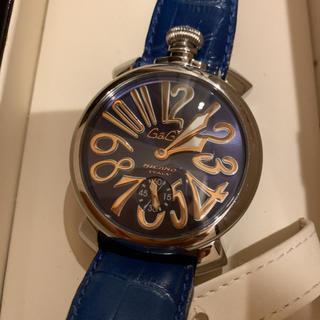 ガガミラノ(GaGa MILANO)の手巻き 腕時計 ガガミラノ マヌアーレ48 5010.05S(腕時計(アナログ))
