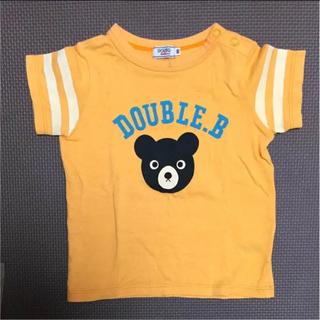 ダブルビー(DOUBLE.B)のミキハウス ダブルビー Tシャツ 90cm(Tシャツ/カットソー)