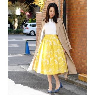 ストロベリーフィールズ(STRAWBERRY-FIELDS)の『BAILA4月号掲載』フィジーフロウ スカート (ロングスカート)