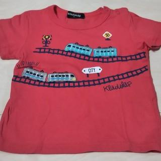 クレードスコープ(kladskap)の90 クレードスコープ Tシャツ 電車(Tシャツ/カットソー)