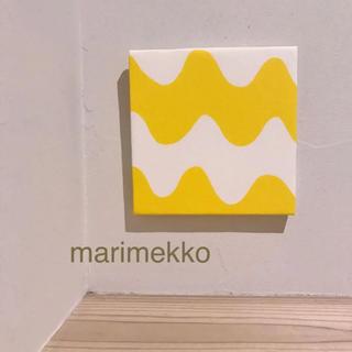 マリメッコ(marimekko)のNEW★【送料込み】ファブリックパネル*マリメッコ ピックロッキ イエロー(ファブリック)