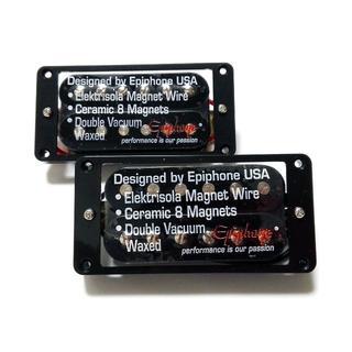 エピフォン(Epiphone)のEpiphone純正 ハムバッカー ブラック F・Rのハイパワーセット(エレキギター)
